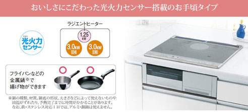 Bếp từ nội địa nhật Panasonic